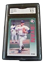 1992 Fleer Nolan Ryan GMA Graded 8.5 NM-MT+ Baseball card number 320 - $7.75