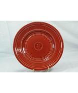 Dansk 1999 Craftmark Poppy Red Dinner Plate - $9.44