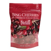 Dilettante Bing Cherries in Premium Chocolate, 7 oz, Pack of 3 - $29.99