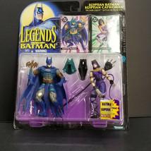 Egyptian Batman & Catwoman Legends of Action Figure Mint on Excellent +Card - $39.00