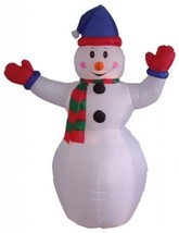 6 Foot Christmas Inflatable Snowman Yard Decoration - €94,08 EUR