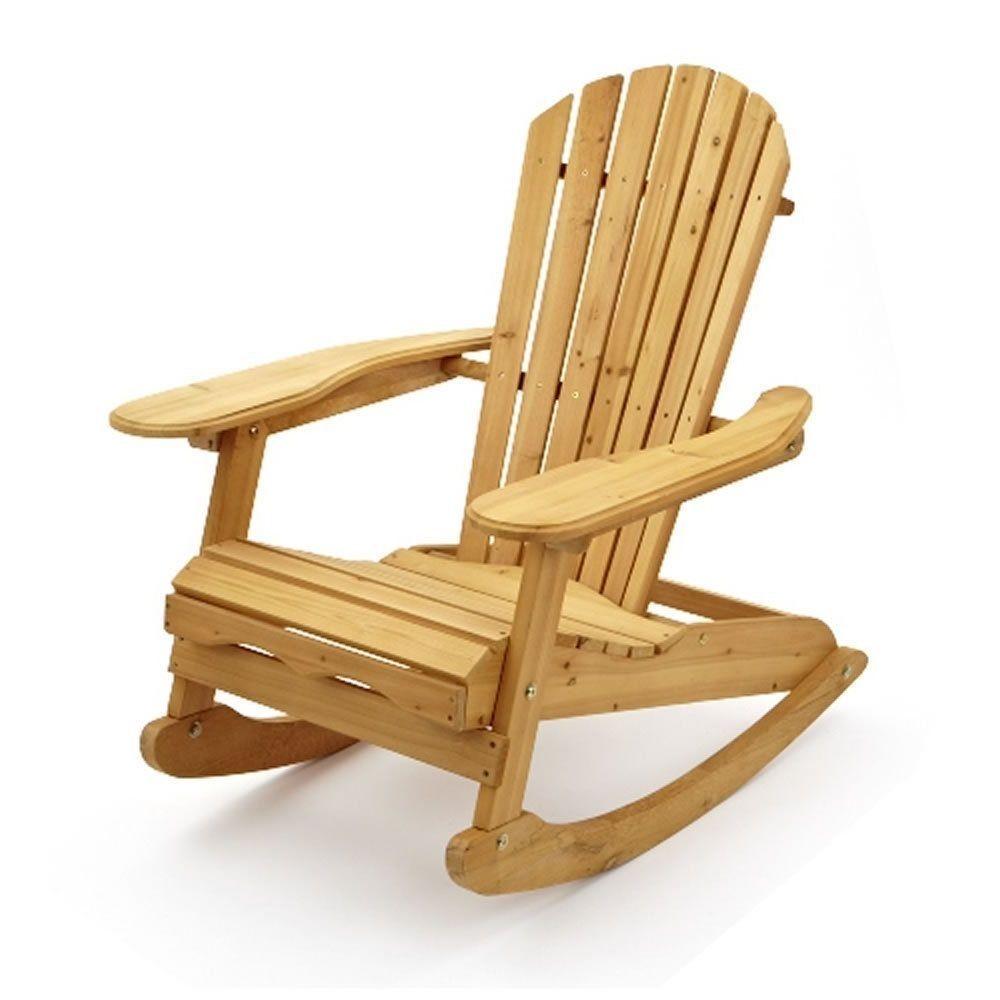 Rocking Chair Traditional Indoor Outdoor Rocker Home Patio Furniture ...