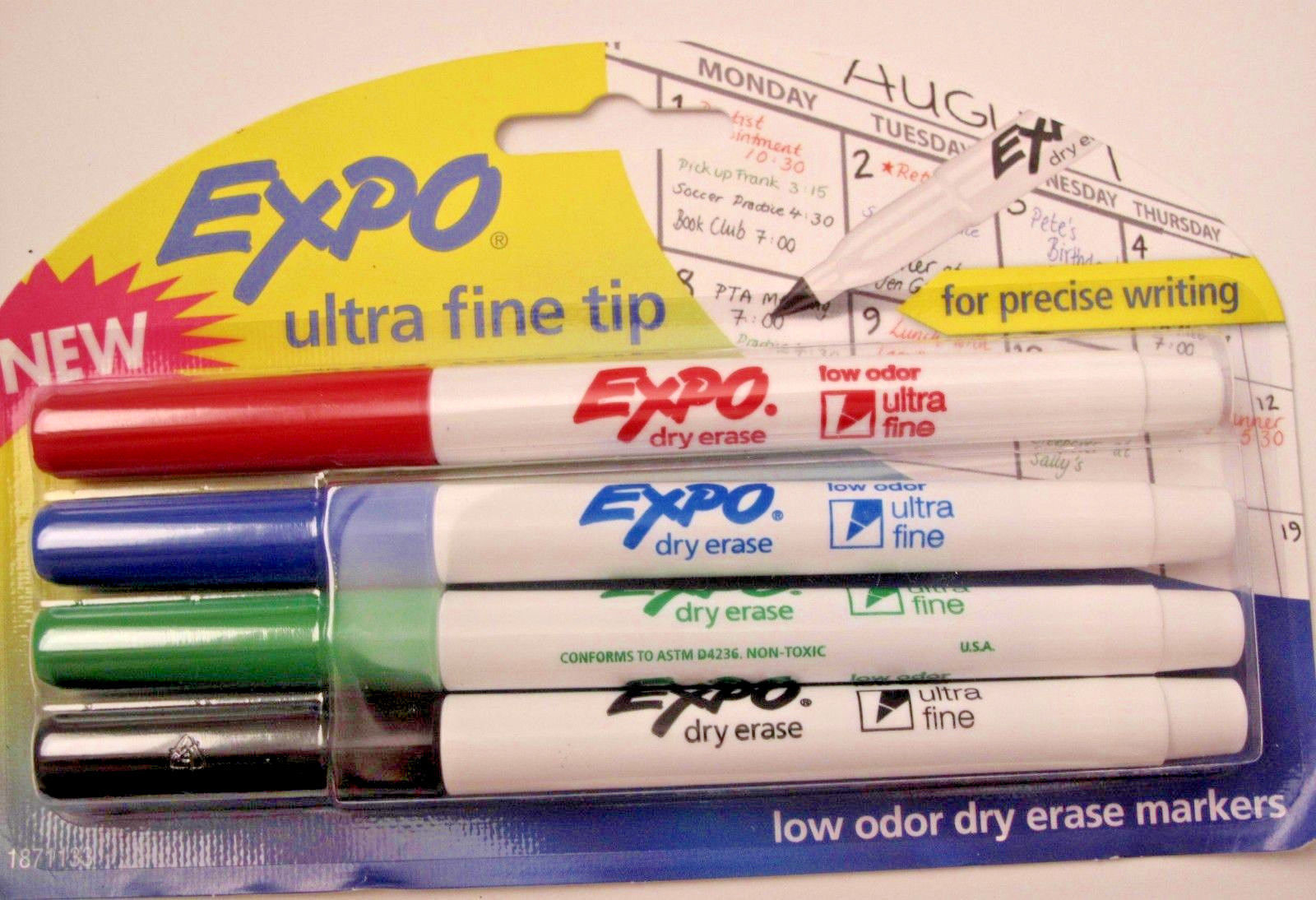 Expo Ultra Fine Tip Dry Erase Markers 4 Pack And 50 Similar