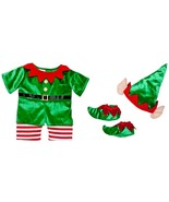 Build a Bear Elf Costume Teddy Size Outfit 3 pc... - $59.95