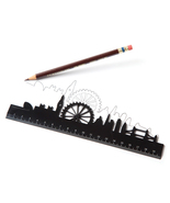 Skyline Ruler London Fancy Original Design Lifestyle Gift Home Office  - €12,19 EUR