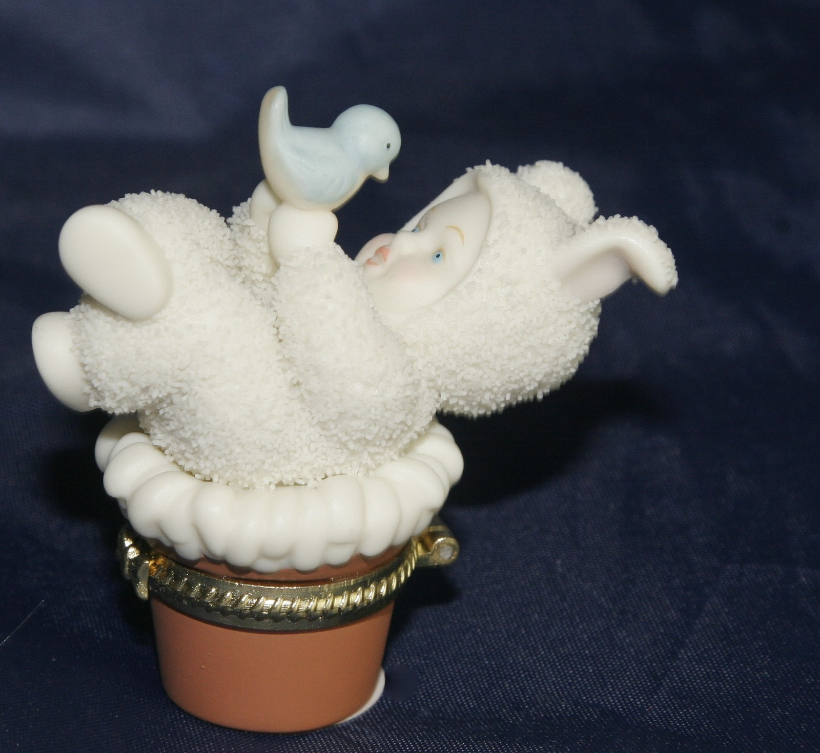 Primary image for Department 56 Snowbabies Eye to Eye Trinket Box