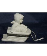 "Dept 56 Snowbabies ""Hold on Tight"" Hinged Trinket Box - $19.62"