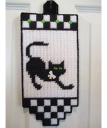 Black Cat Stretching Wall Window or Door Decor ... - $8.00