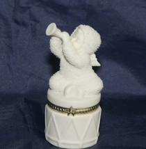 "Dept 56 Snowbabies ""Celebrate"" Hinged Trinket Box - $19.62"