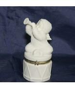 """Dept 56 Snowbabies """"Celebrate"""" Hinged Trinket Box - $19.62"""