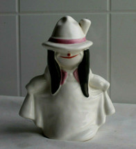 """Vintage  Goebel White Ghost Witch; Smiling Girl Figurine W Germany; 4"""" - $11.30"""