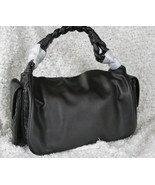 Women Hobo Large Faux Leather Handbag With Braided Handle Purse Tote  Sh... - $24.64