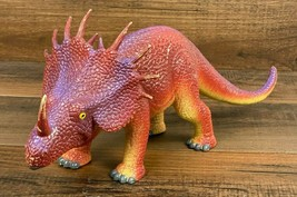 "Jasman 1997 Styracosaurus 15"" Long Dinosaur Figure RARE  - $22.62"