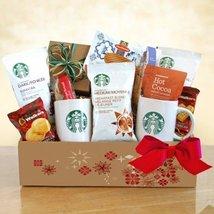 A Starbucks Christmas Coffee Christmas Gift Basket - $73.47