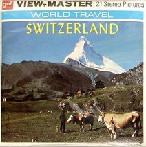 Switzerland 3d View-Master 3 Reel Set - $15.11