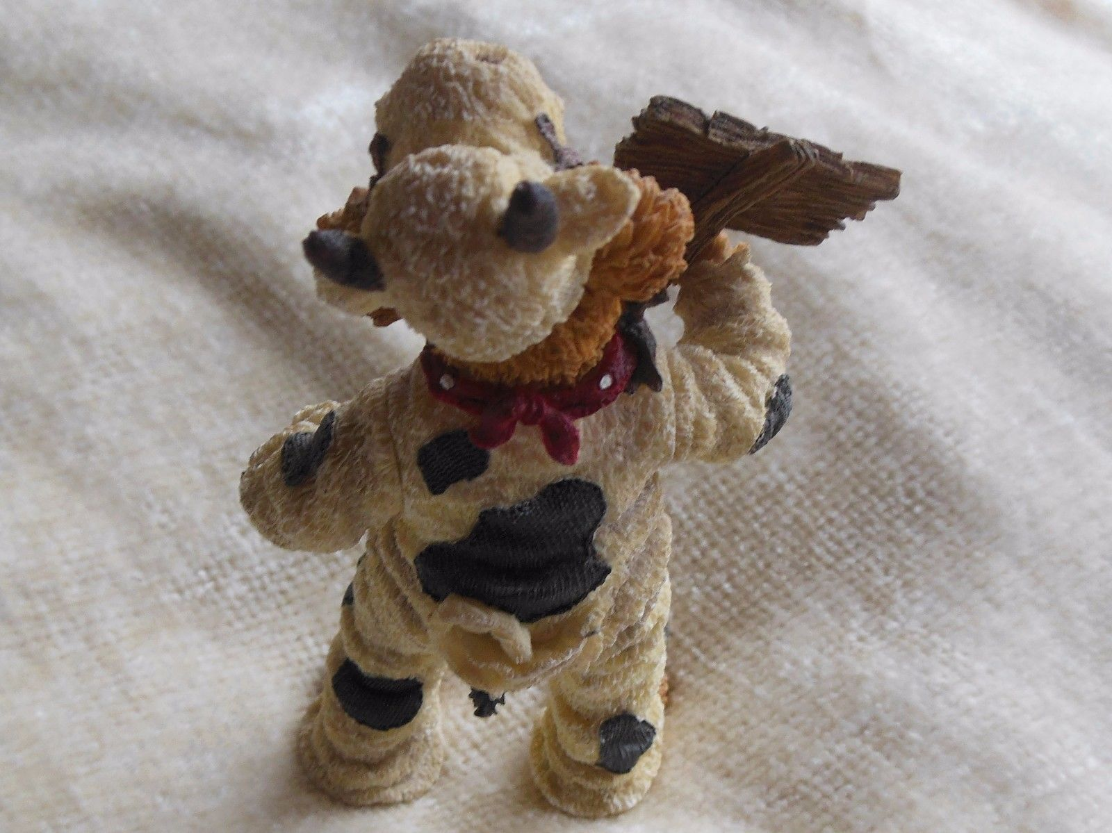 Boyd's Bears Angus Bearger...Quit Yer Béefin!-Boyds Shoe Box Bears #3230