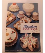 Knudsen Recipes Dairy Products Recipes 1962 Softcover 65 Pages Cookbook - $7.00