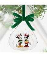 Disney Store Mickey Minnie Mouse Glass Sketchbo... - $39.95