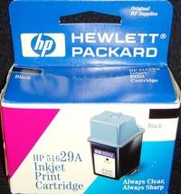 New!•hp 51629A•Black•InkJet Cartridge•DeskJet 600 Series & DeskWriter 60... - $9.99