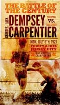 Jack Dempsey Geo Carpentier 8X10 Photo Boxing Poster Picture Wide White Border - $4.94