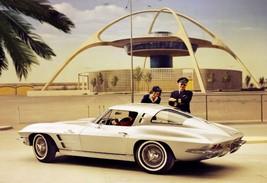 "1963 C2 Stingray Chevy Corvette 24"" X 36"" Inch Poster Garage Sign, Sport Car - $18.99"