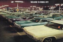 "1965 Chevrolet Impala Car Lot 24"" X 36"" Inch Poster Garage Sign, Sport Car - $18.99"