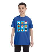 Kids T Shirt Christmas Icons Ugly Holiday Symbols T-Shirt - $10.94