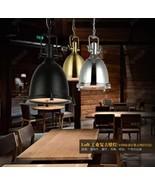 Vintage Cast Iron Ceiling Lamp E27 Light Fixture Cafe Loft Benson Pendant - $155.77+