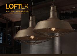 Caged Barn Pendant E27 Light Ceiling Lamp Antique Rust Chandelier Lighting Fixtu - $92.66+