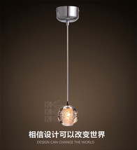 Italian Crystal Ball Ceiling Lamp G4 Bulb Glass Globe Hanging Pendant - $47.98+
