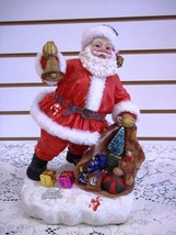 """12"""" Plastic SANTA CLAUS is Coming To Town Chris... - $19.78"""