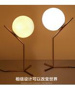 Modern Flos Glass Table Desk Lamp E14 Light Night Reading Golden Finish ... - $134.20+