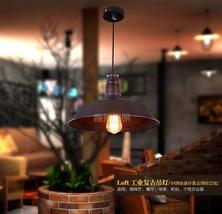 Vintage Barn Pendant Restoration Ceiling Lamp Indoors E27 Cafe Light 3 Finish - $35.23+