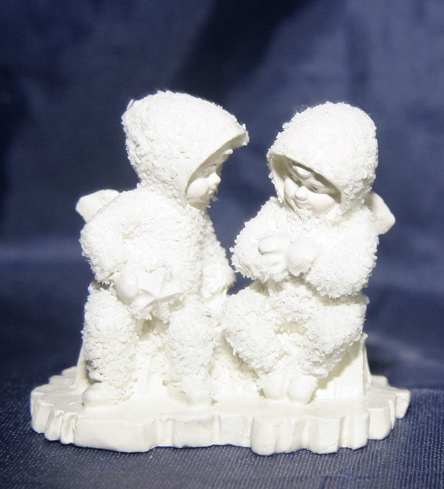 Primary image for Deptartment 56 Snowbabies Handpainted Pewter This Will Cheer You Up  Figurine