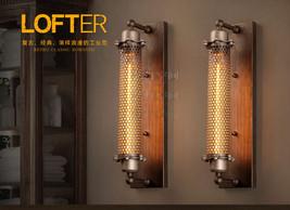 Grand Edison Perforated Metal Sconce Edison E27 Light Wall Lamp Lighting Fixture - $115.64