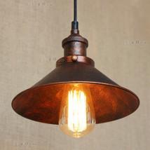 20th. C. Edison Filament Pendant Restoration Ceiliang Lamp E27 Light Indoors - $58.00+