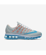 New Nike Women's Air Max 2016 N7 Size 7 - Turquoise Mango Running 845395-146 - $158.39
