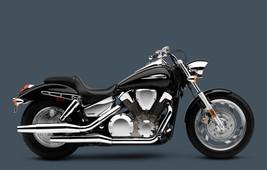 2009 VTX 1300C BLACK MOTORCYCLE 24 X 36 INCH POSTER, man cave, garage, wall - $18.99