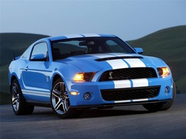 2009 FORD MUSTANG POSTER SHELBY FORD BLUE industries, kitt, man cave, ga... - $18.99