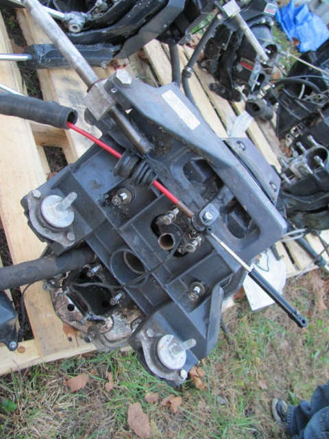 OMC Cobra 2.3 Transom Plate with Rams 1990 Fresh Water