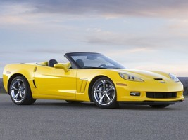 2010 Corvette Grand Sport Poster Yellow 24 X 36 Wall Decor, Man Cave, Garage - $18.99