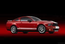 2011 Ford Mustang Gt500 Poster 24 X 36  Inch Red, Wall Art, Garage, Man Cave - $18.99