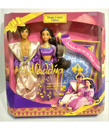 Mattel Aladdin Magic Carpet Giftset Aladdin & Jasmine Carpet Plays Music... - $129.99