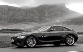 2012 BMW Z4 M COUPE POSTER 24 X 36 INCH man cave decor, garage, wall art - $18.99