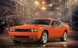 2012 Dodge Challenger Rt Poster 24 X 36 Inch Man Cave Decor, Garage, Wall Art - $18.99