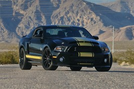 2012 Ford Mustang Shelby Gt 500 Poster 24 X 36 Inch Man Cave Decor, Garage, Wall - $18.99