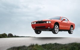 2012 Dodge Challenger Poster 24 X 36 Inch In Air Man Cave Decor, Garage, Art - $18.99