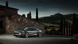 2013 Aston Martin Vanquish Poster 24 X 36 Inch Sports Car, Man Cave Decor, Art - $18.99