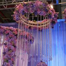 20 meters Garland Diamond Strand Acrylic Crystal Bead Wedding Decoration - $12.43