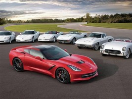 2014 CORVETTE POSTER THE VETTES 24 X 36 INCH man cave, wall art, garage - $18.99